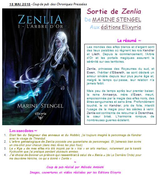 En un coup d'oeil 1 - Sortie de Zenlia
