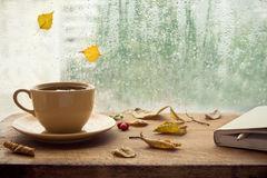 automne-tasse-de-thé-et-de-carnet-97850609