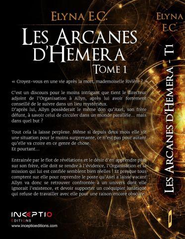 Les Arcanes d'Hemera 4e de couverture