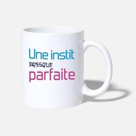 ecole-prof-instit-professeur-maitresse-mug-blanc